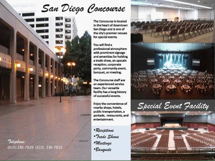 Golden Hall – Concourse  San Diego