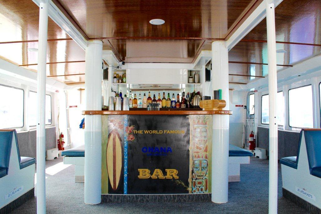 Ohana cruise mission bay ranch events for Food bar ohana