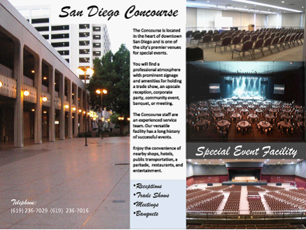 Golden Hall – Concourse  San Diego