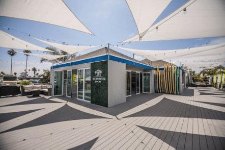 the Tower Beach Club